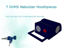 7 OVMC Nebulizer Mouthpieces