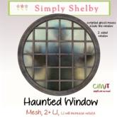 Creepy Haunted Window