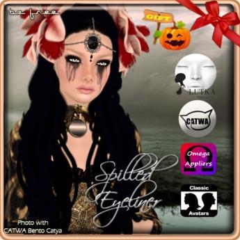 GIFT Halloween! Spilled Eyeliner..::BF::..