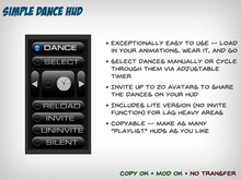 Simple Dance HUD