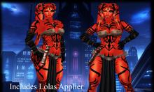 SKBW Darkside Alien Outfit