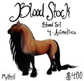 ~Mythril~ Teegle: Blood Stock Stands