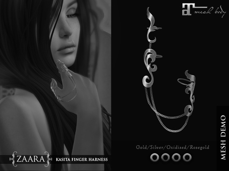 Zaara : [DEMO] Kasita finger-harness (maitreya)