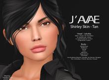 [J'AVAE] SHIRLEY SKIN - TAN