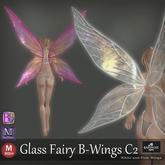 ::: B@R ::: Glass Fairy B-Wings C2 (Bento Wings)