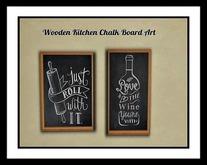 Kitchen Chalk Boart Art'e
