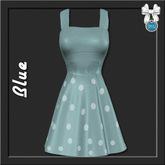 [trs] Doris Swing Dress . Blue
