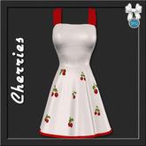 [trs] Doris Swing Dress . Cherries