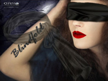 [SuXue Mesh] Blindfold - black Silk - Rigged - Non Rigged Resize - UNISEX - DEMO
