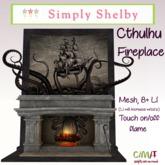 Cthulhu  or Kraken Fireplace Set