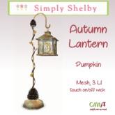 Autumn Lantern  - pumpkin