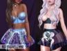 Sweet Thing. Iris Plastic Bustier FATPACK - Freya, HG, Maitreya