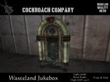 [COCKROACH] Wasteland Jukebox (Mesh)