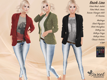Sweet :: Brick Lane Outfit - Maitreya - Slink (P,H) - Belleza - TMP - Classic - 10 Textures