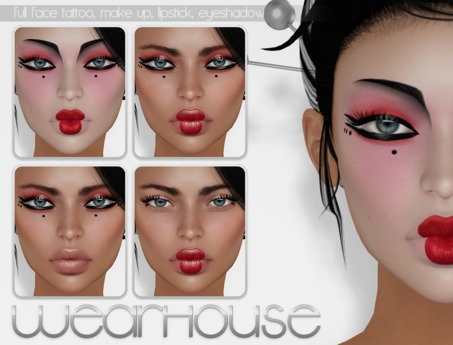 WrH [geisha classic]  *Applier 4 Catwa & Lelutka Bento