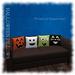 [Home Goods] - Halloween Pillows (4); Ghost, Cat, Frankenstein & Jack O