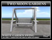 TMG - WHITE GARDEN SWING*