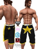 XK All Stars Shorts Black
