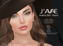 [J'AVAE] AUDREY SKIN - PEACH
