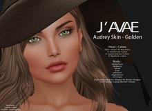 [J'AVAE] AUDREY SKIN - GOLDEN