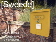 [Sweede] Swedish Mail Deposit Box 100% Mesh