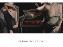 RK Poses. Kate's Closet