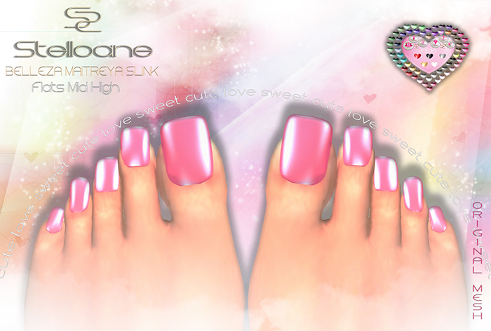 * Stelloane Toe square nails & polish
