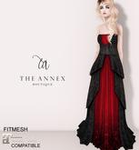 The Annex - Her Ladyship Gown - Black Gothic