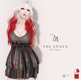 The Annex - Violetta Dress - Bloody