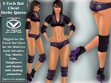 V-Tech Boi Chest Hot Stuff Derby Queen