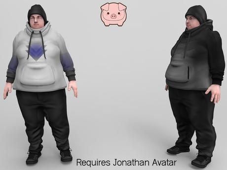 piggu Jonathan's Hooded Outfit 02