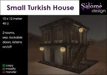 Small Turkish House Sales Box
