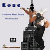 Kong Gorilla Avatar