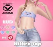 Pixel Geek - Kitten top for V-tech * Pastels