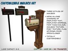 [S2S] Customizable Mailbox Set
