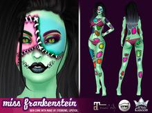 ::White Queen :: Skin Miss Frankenstein - green, catwa