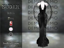 :-:SUGAR:-: Indica Gown {SPIDERS} DEMO