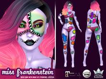 ::White Queen :: Skin Miss Frankenstein - purple, catwa