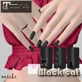 <ooSiki>Black cat [nail Maitreya]