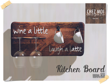 Kitchen Board ♥ CHEZ MOI