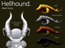 Zigoton Hellhound Horns