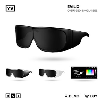 YV - EMILIO - OVERSIZED SUNGLASSES