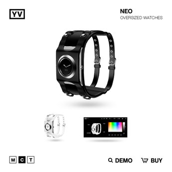 YV - NEO - OVERSIZED WATCHES