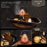 Special price Halloween !! Follow US !! Halloween Tea Time tray (cookies) COPY version