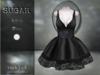 :-:SUGAR:-: Dark Doll Dress {BLACK}