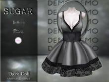 :-:SUGAR:-: Dark Doll Dress {FOG} DEMO