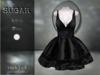 :-:SUGAR:-: Dark Doll Dress {ROACH LACE BLACK}