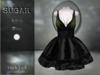 :-:SUGAR:-: Dark Doll Dress {ROACH LACE OLIVE/BLACK}