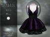 :-:SUGAR:-: Dark Doll Dress {ROACH LACE PURPLE}