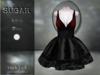 :-:SUGAR:-: Dark Doll Dress {ROACH LACE RED/BLACK}